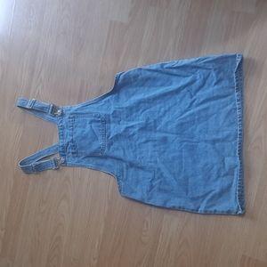 Denim skirt jumper